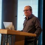 Prof. Tim Bruysten auf dem 27. Multimediatreff (Foto: Stefan Nitzsche)