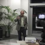 Prof. Tim Bruysten in der VIP Lounge des Düsseldorfer Flughafens - Vortrag